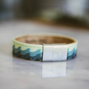 Nautical Wave Bracelet