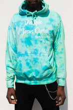 "Load image into Gallery viewer, Tie Dye ""Disciple of Jesus Christ"" Hoodie"