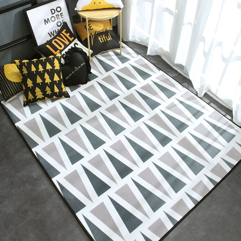 Backgammon Patterned Carpet