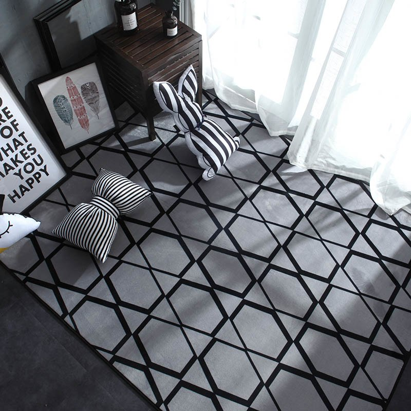 Gray Mesh Carpet