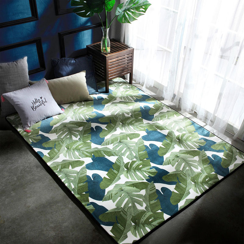 Tropical Leaves Carpet