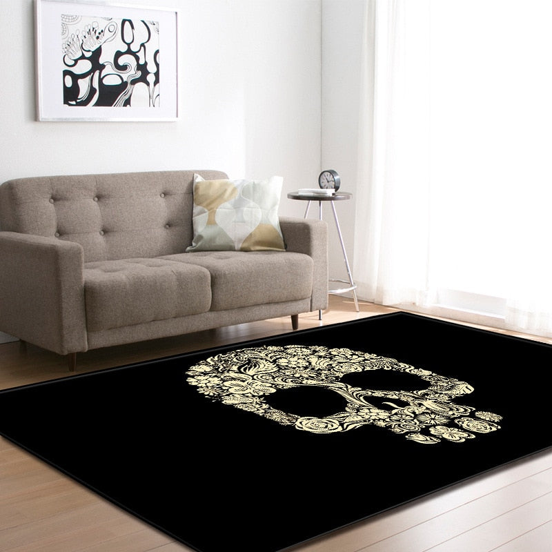 Skull Head Carpet