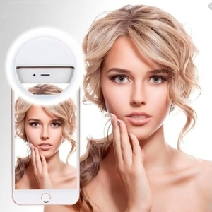 ARO DE LUZ LED SELFIE PARA CELULAR - TABLET - PC