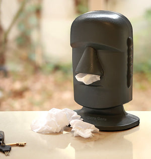 Dispenser Pañuelitos Tissue - Stone Head - Cabezon
