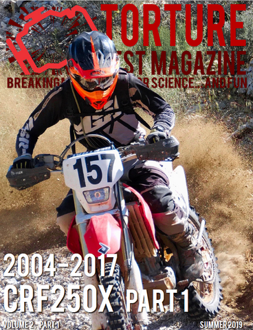 Torture Test Magazine CRF250X