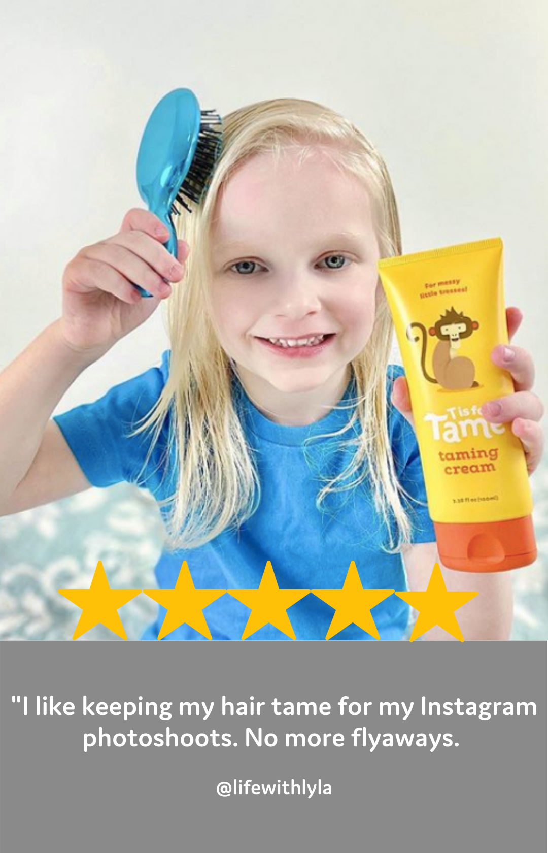 "girl flyaways hair gel products ""tisfortame"" ""t is for tame"" hair products for kids babies baby hair gel"