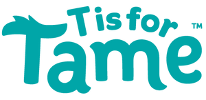 """t is for tame"" logo"