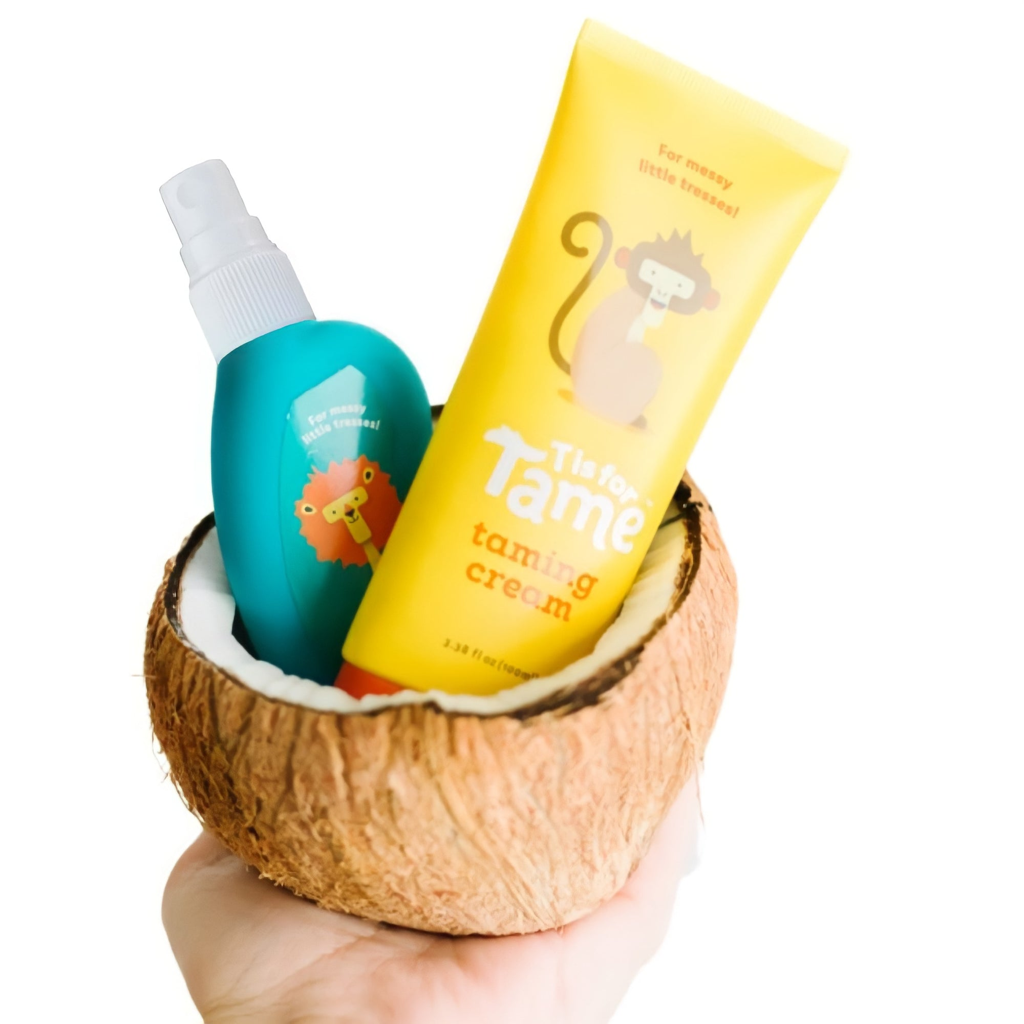 """t is for tame"" hair taming products for babies toddlers kids"