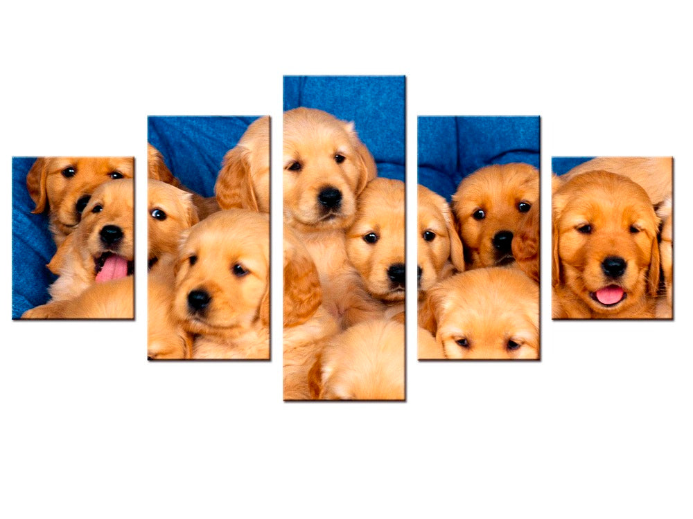 Labrador Puppies Dogs Poster Wall Sticker Free Shipping Life You