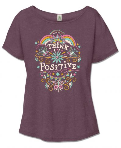 Think Positive Slouch Top