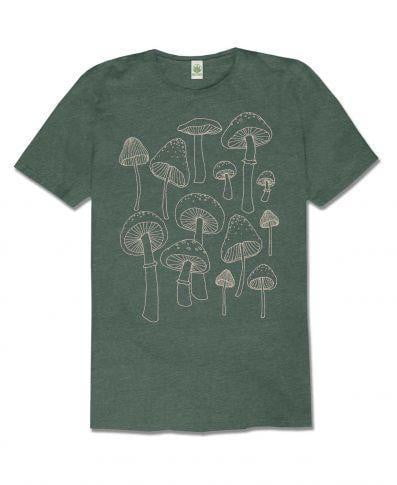 Mushrooms Recycled T-Shirt