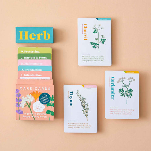 Herb Care Cards