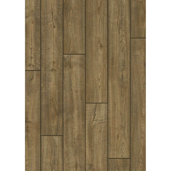 Scraped Oak Grey-Brown