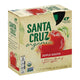 Santa Cruz Organic Apple Sauce - Case Of 6 - 3.2 Oz.