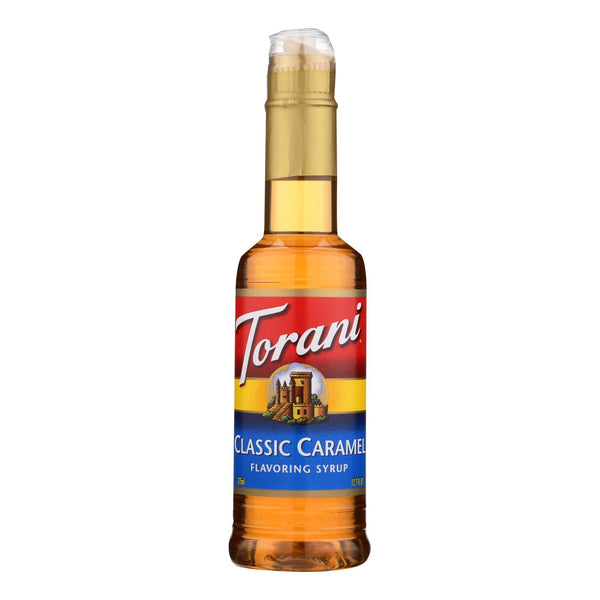 Torani - Coffee Syrup - Caramel - Case Of 4 - 12.7 Fl Oz.