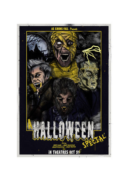 A Halloween Special - Limited A3 Print