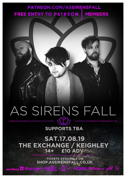 As Sirens Fall + Supports - Keighley 17/08/2019