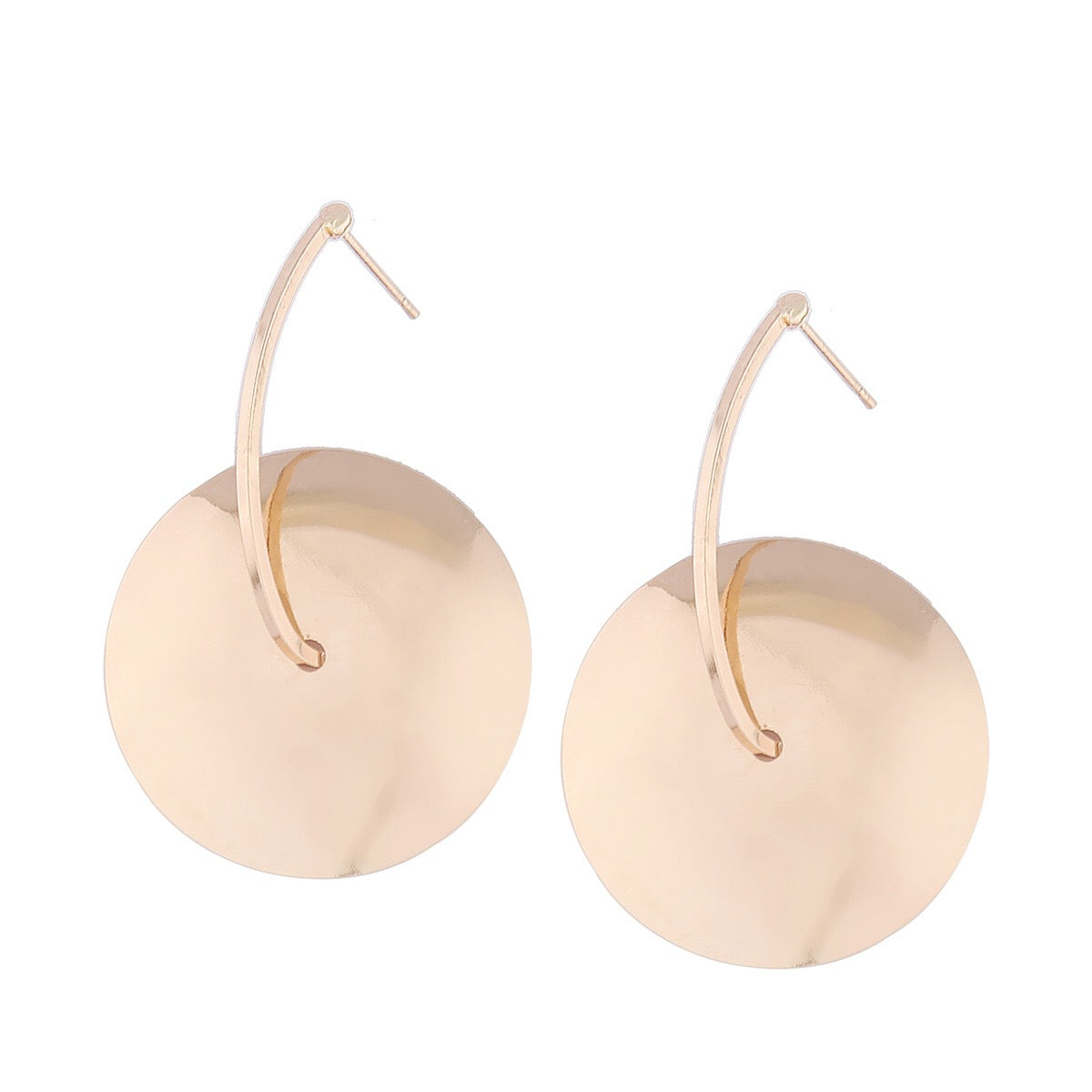 In A Perfect World Cymbals inspired drop earrings for a bolder look.