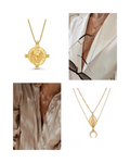 In A Perfect World The Theia neckalce set Aurora Femme necklace