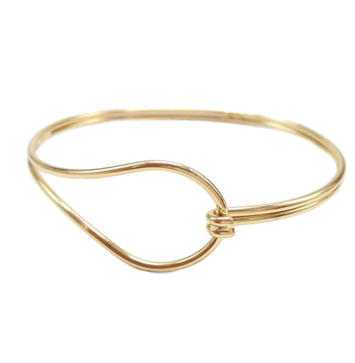 In A Perfect World IAPW Inka gold and silver twisted cuff bangle accessories bracelet