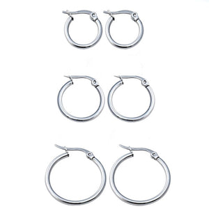 In A Perfect World IAPW hoops huggies earring set