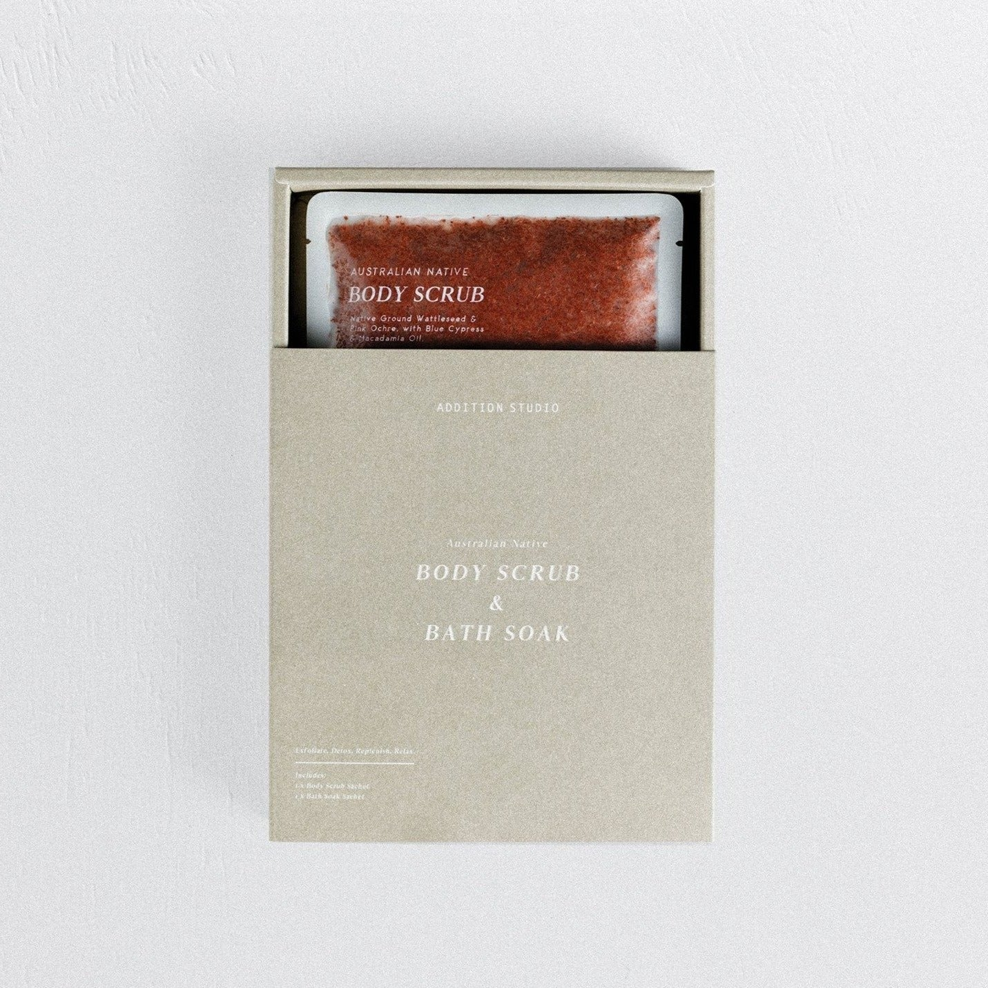 In A Perfect World I. A. P. W. Addition Studio Ritual Lifestyle Bath Soap Australian Native Body Scrub Bath Soak