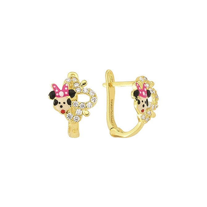 MINNIE MOUSE CZ EARRINGS