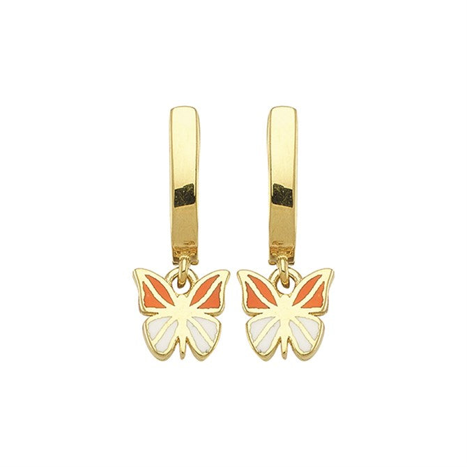 BABY BUTTERFLY EARRINGS