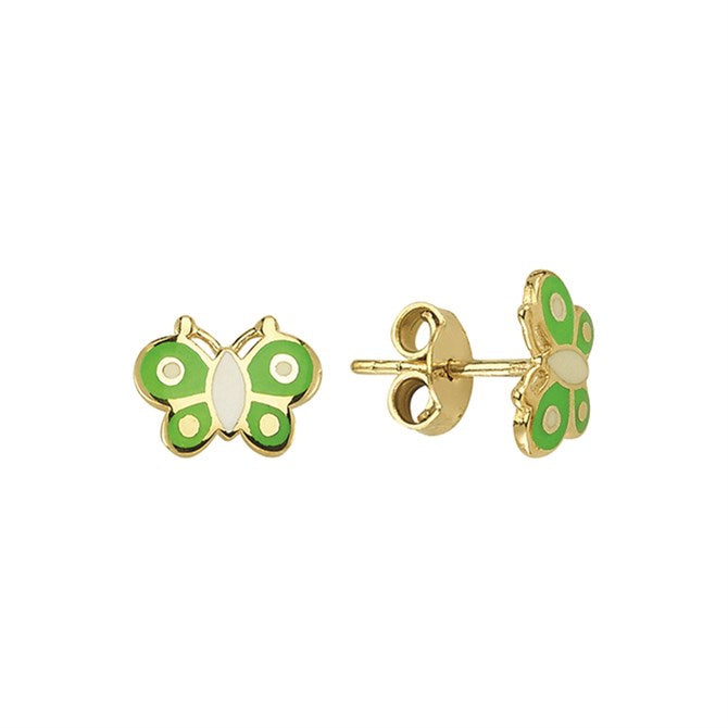 BABY BUTTERFLY STUDS