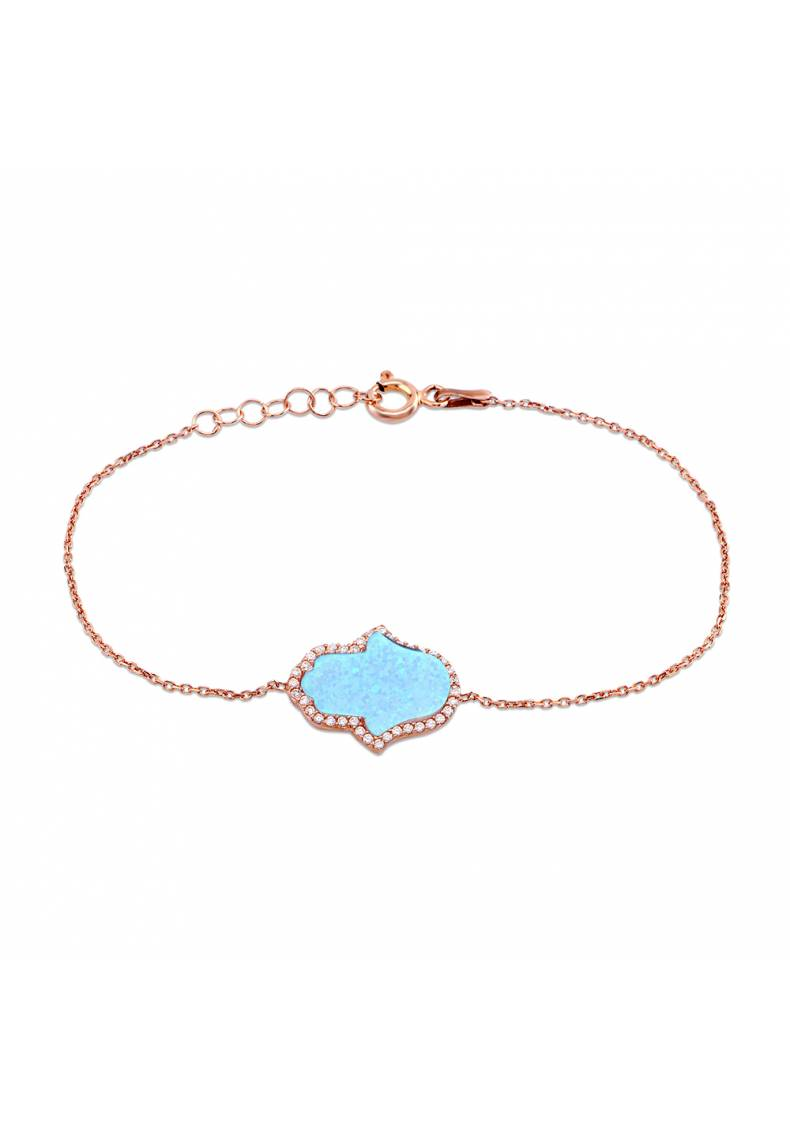 OPAL HAND OF GOD HAMSA BRACELET