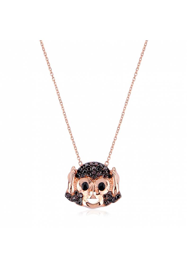 HEAR NO EVIL MONKEY NECKLACE