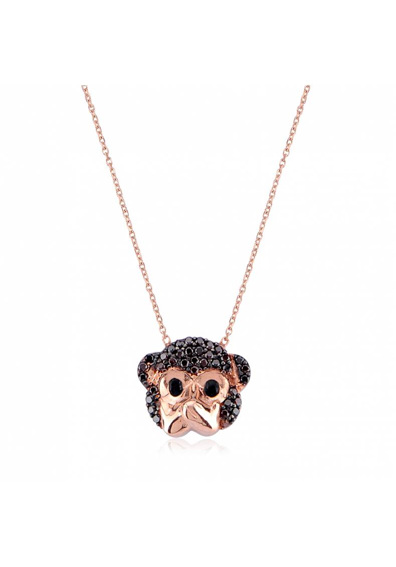 SPEAK NO EVIL MONKEY NECKLACE