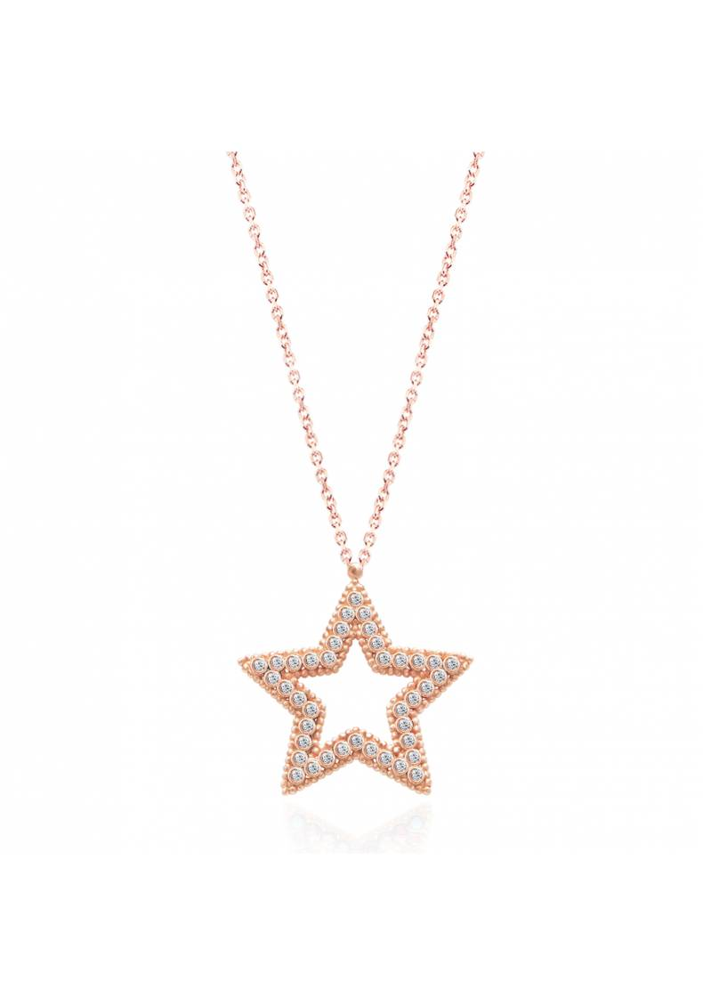 STONE STAR NECKLACE
