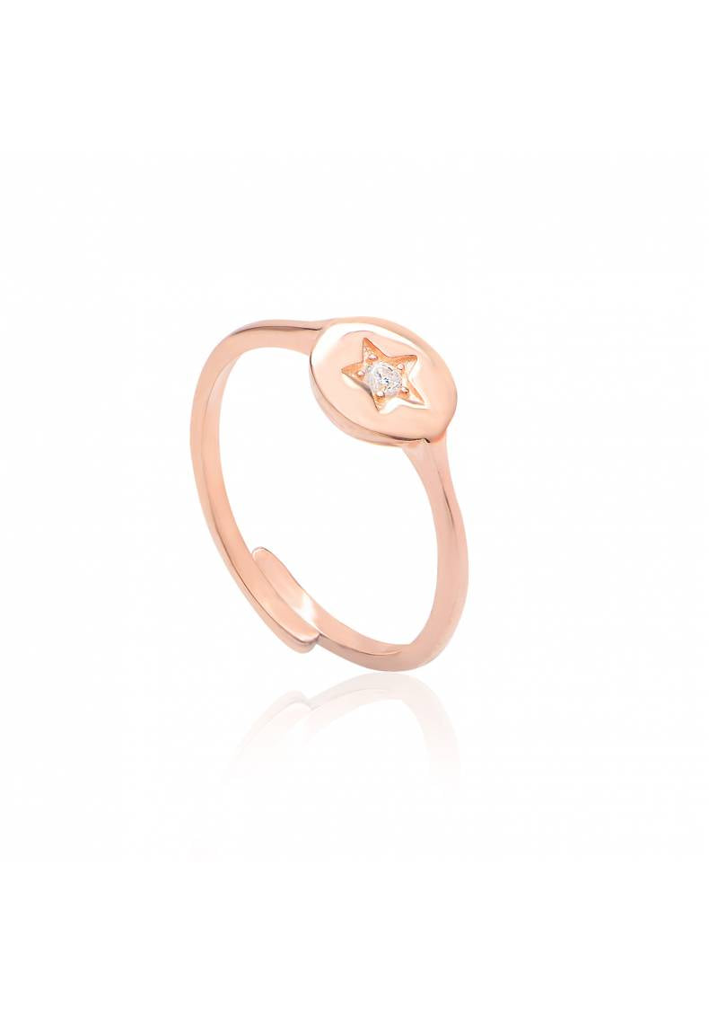DAINTY STAR ADJUSTABLE RING