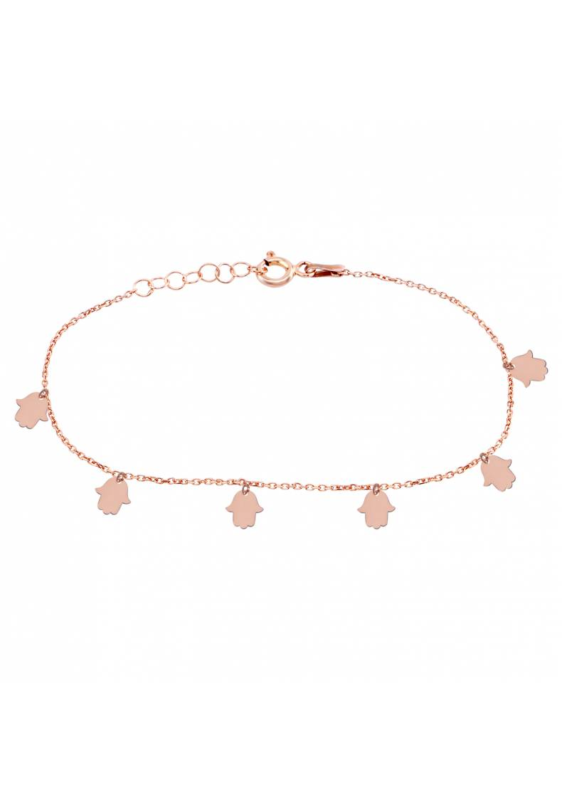 FATMA HAND OF GOD HAMSA ANKLET