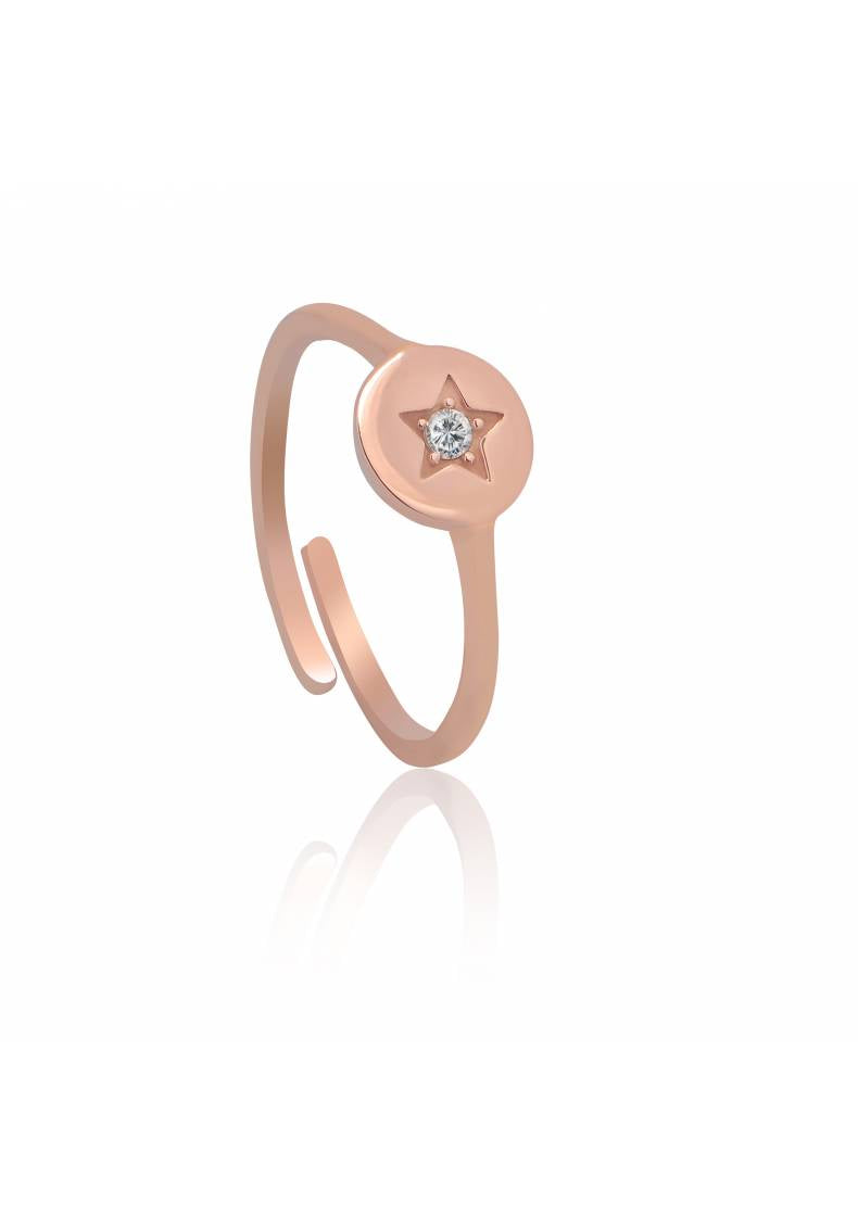 STAR ADJUSTABLE PINKY RING