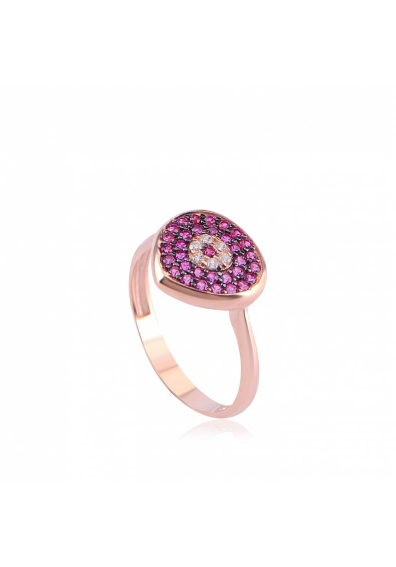 POMEGRANATE EYE RING