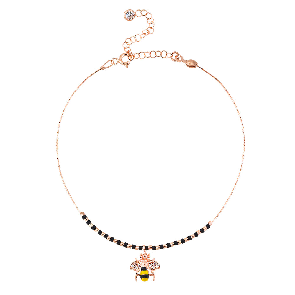 BUMBLE BEE ANKLET