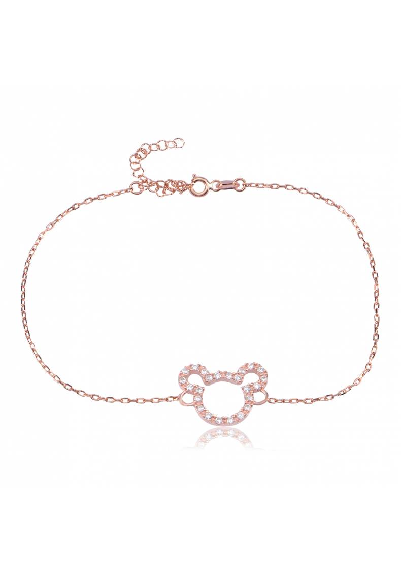 MICKEY MOUSE PAVE ANKLET