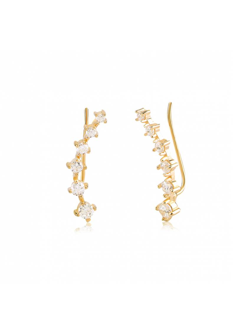 CZ STONE LONG EAR CUFF