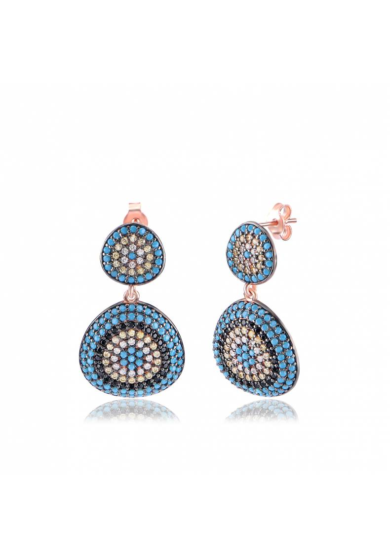 NAZAR TURQUOISE EARRINGS