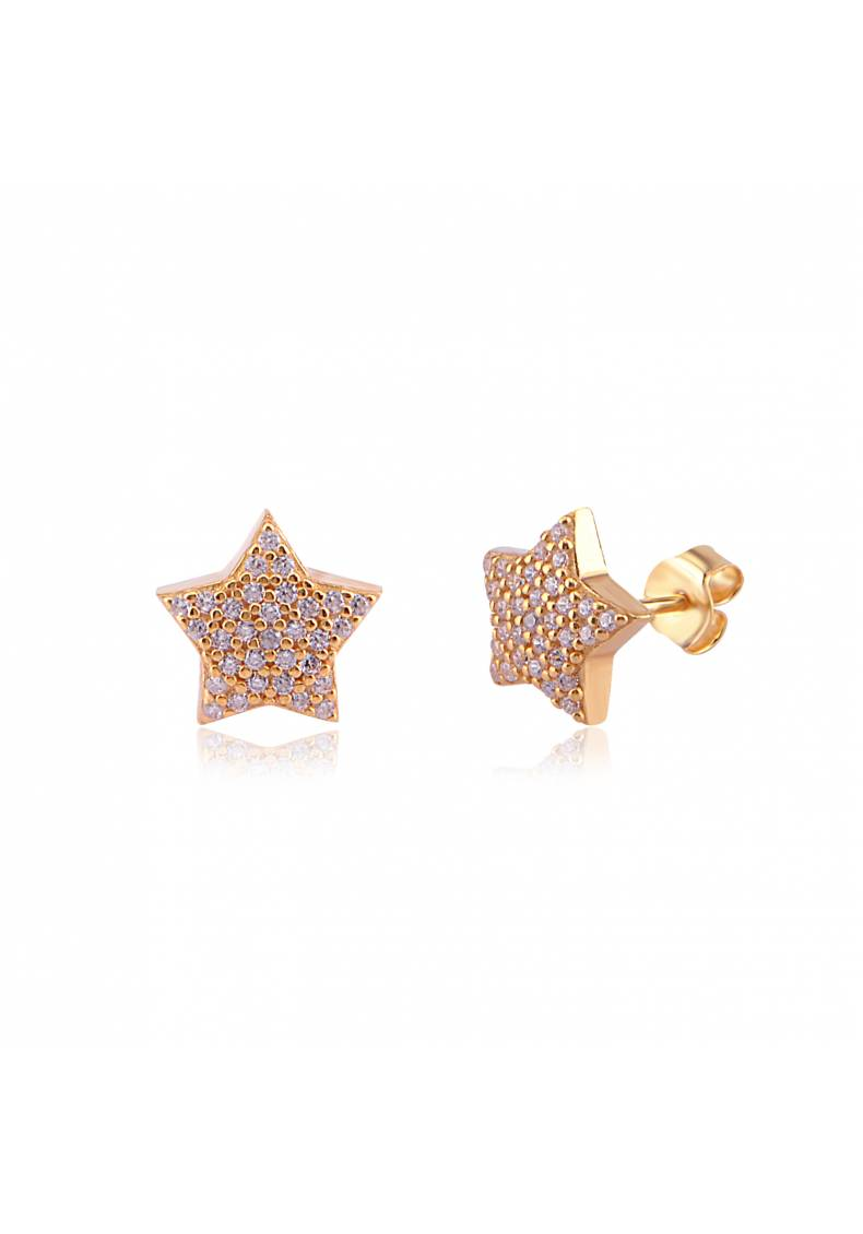 CUSHION STAR STUDS