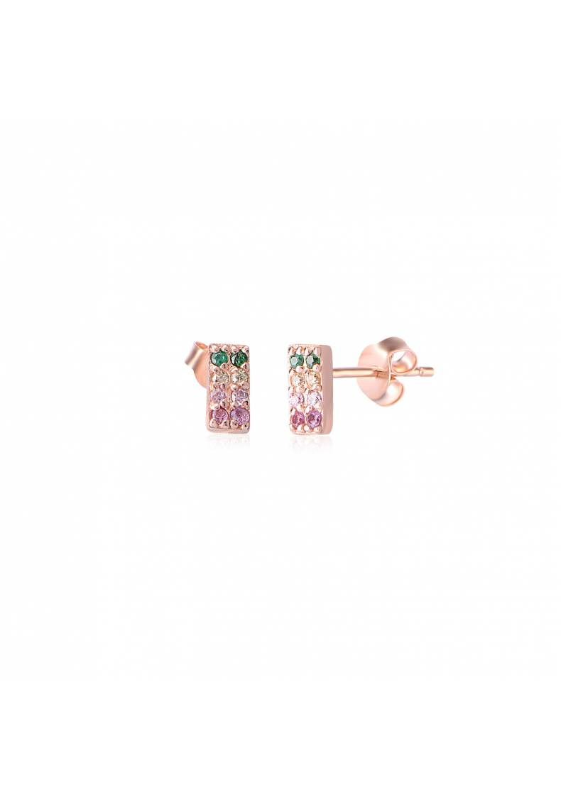 RECTANGLE RAINBOW STUDS