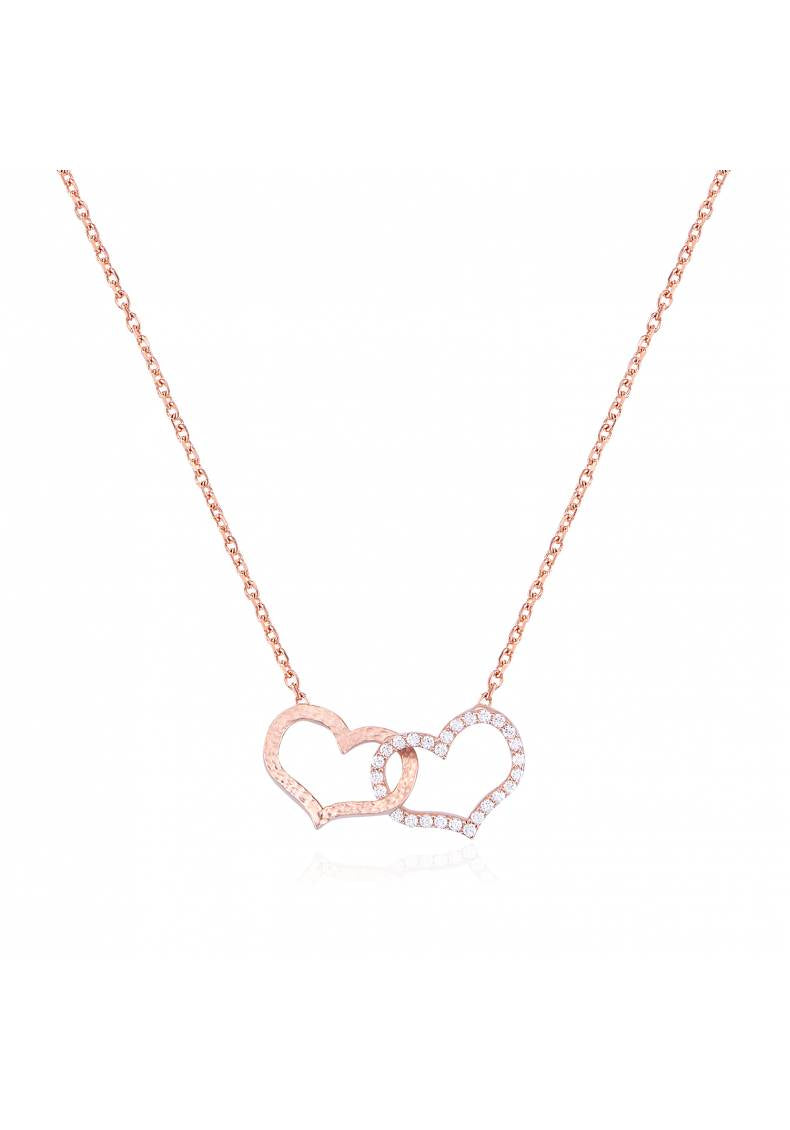 NESTED HEARTS NECKLACE