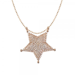 SHERRIFF'S STAR NECKLACE