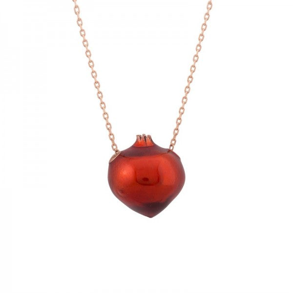 POMEGRANITE NECKLACE