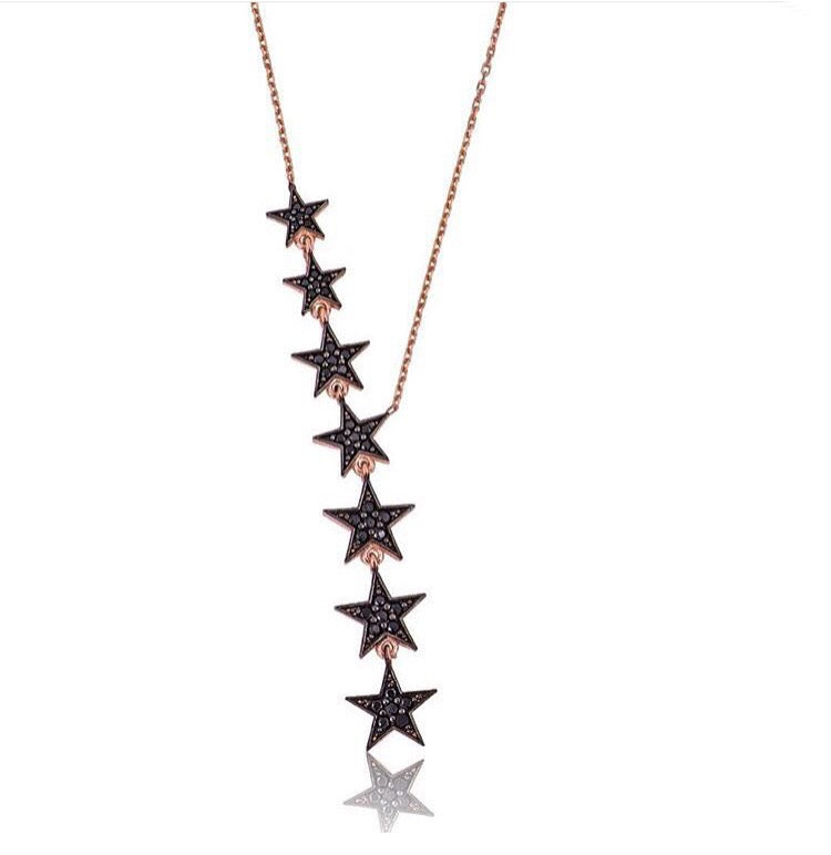 CASCADING STAR NECKLACE
