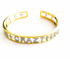 Fun Crazy Love Pave Bangle Bracelet