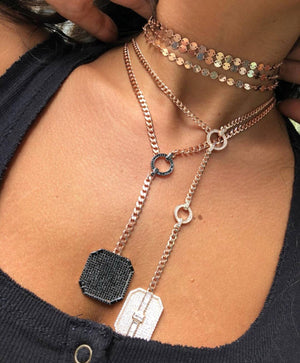 EDGY & CHIC DOG TAG NECKLACE