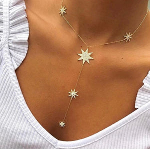 STERLING SILVER STAR, EYE AND CHAIN LINK CHOKERS AND NECKLACES